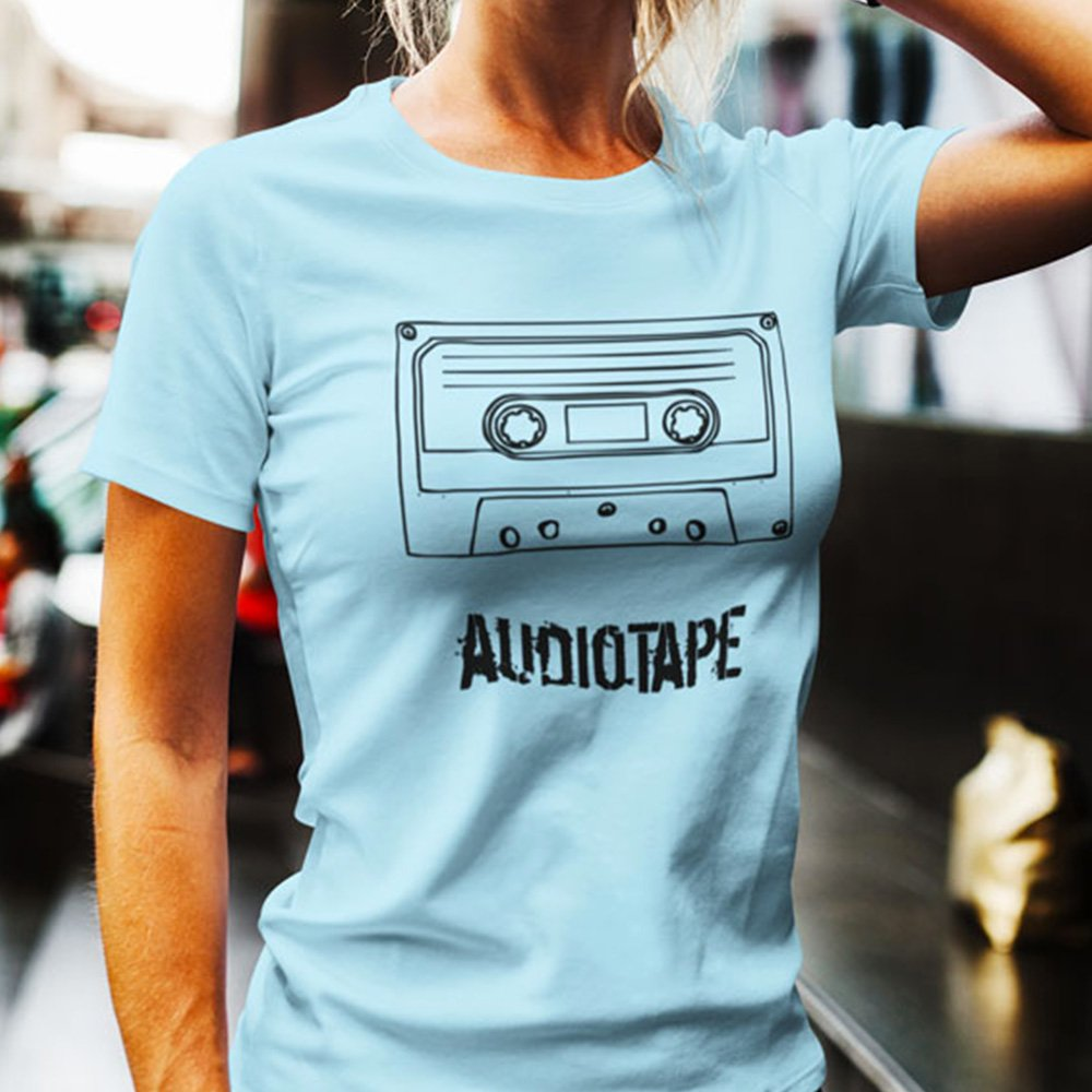 cassetta-musicale-tshirt