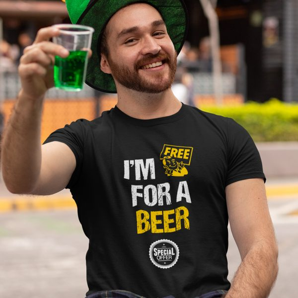 Free for a beer t-shirt
