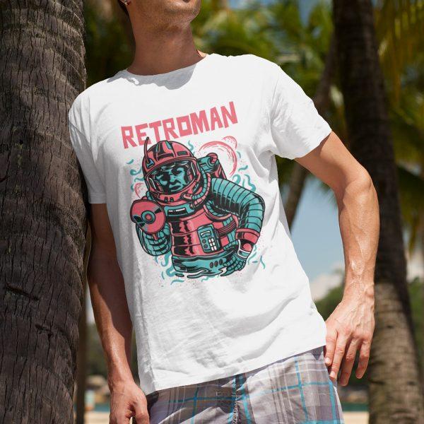 retroman-tshirt