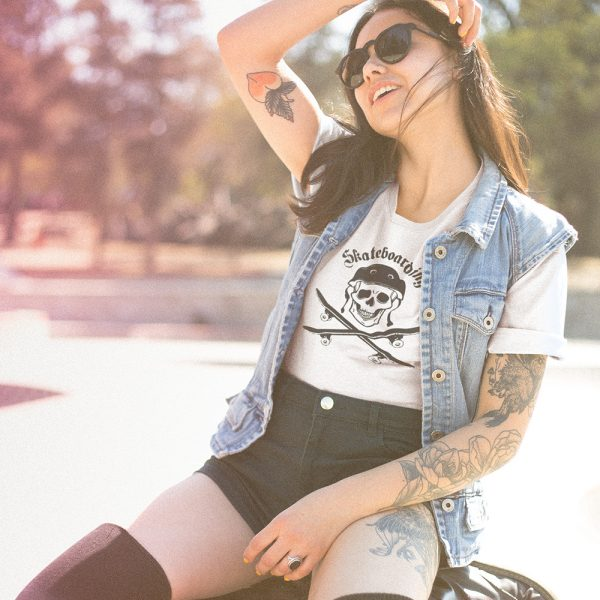 skateboarding-maglietta