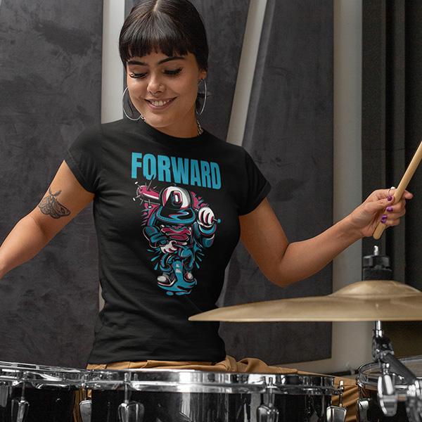 maglietta forward donna