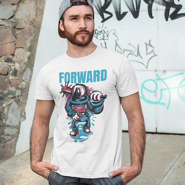 maglietta forward