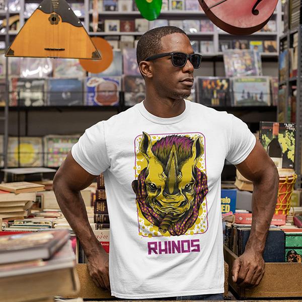 maglietta rhinos