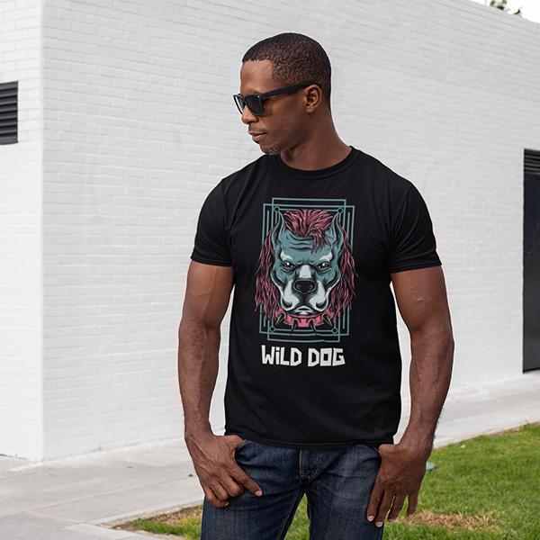 maglietta wild dog