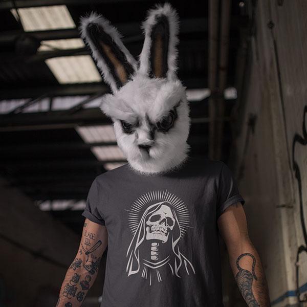 sacred skull t-shirt man