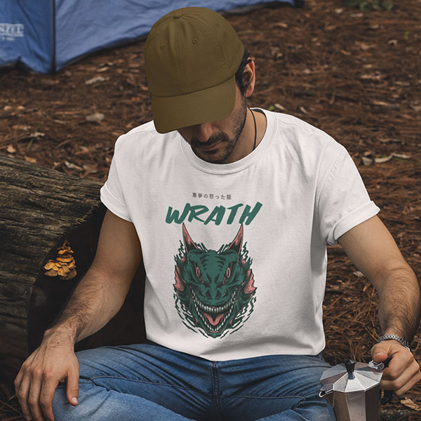 wrath t-shirt man