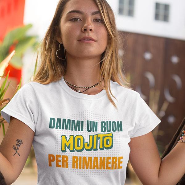 Dammi un buon mojito t-shirt woman