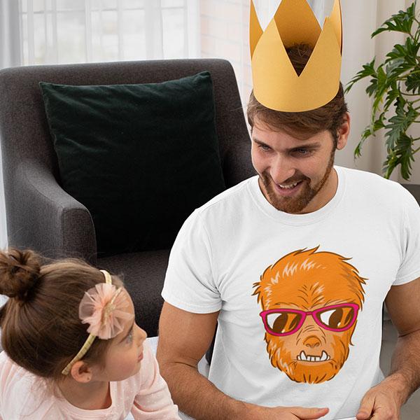 sunglasses monster t-shirt