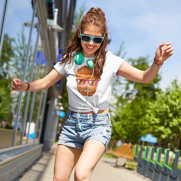 monster sunglasses t-shirt woman