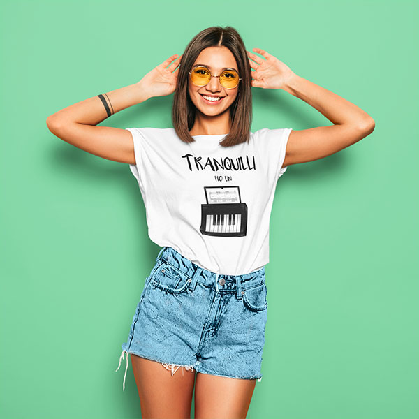 tranquilli t-shirt woman