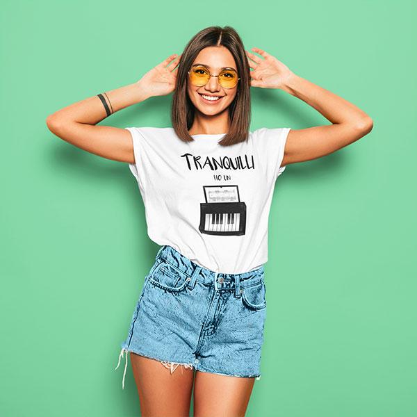 tranquilli t-shirt woman